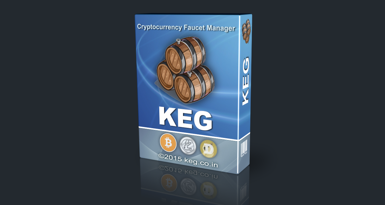 KEG - Manager Cryptocurrency faucet-sites